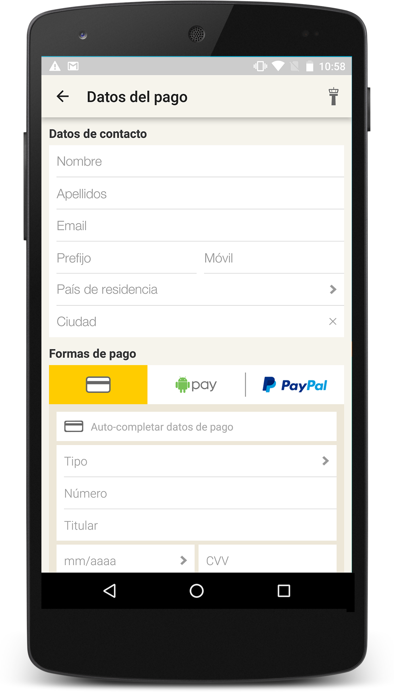 [Imagen] AndroidPay_Vueling